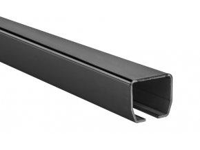 HiMotions HS.327.3 C profil pro samonosné brány CP100-3, rozměr profilu 100x89, délka 3m, černý