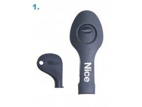 PRWNG01 set náhradního odblokování pohonů Nice Wingo - bazarový