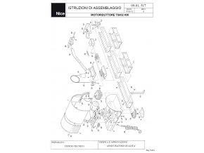 233119 rozkresleni nahradnich dilu pro pohony Moovo TS432KM