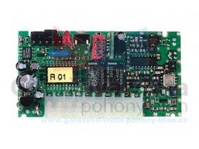 Nice FLOXI2R 2 kanálový zásuvný přijímač PLUG-IN s paměťovou kartou BM 250, plovoucí kód, vhodný také do pohonů Bernal NED