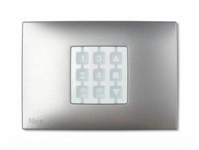 WRA obdelníkový rámeček vysílače NiceWay, barva hliník