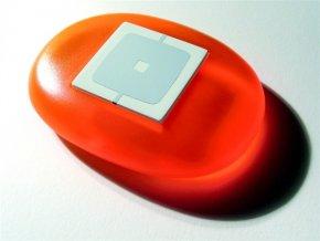 Nice WEO nárazuvzdorný obal ovládače Nice WAY v oranžové barvě