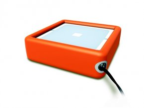 WCO  obal ovládače s poutkem, pro vysílače NiceWay, oranžový