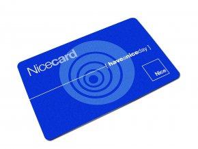 Nice MOCARD ID karta přístupového systému pro ovládání závor a pohonů vrat