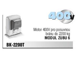 Motor 400V pro posuvnou bránu do 2200 kg