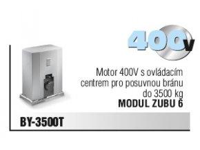 Came BY-3500T pohon s ovládacím centrem pro posuvnou bránu do 3500 kg, 400V