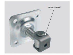 Pant regulovatelný s plotnou pro zděné a kovové sloupy