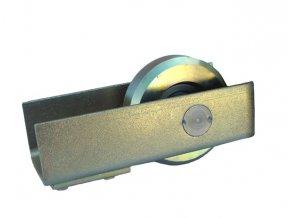 Dojezdové kolečko KO80 do c profilu posuvné brány, odlehčovací