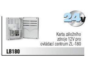 Karta záložního zdroje 12V pro ovládací centrum ZL-180