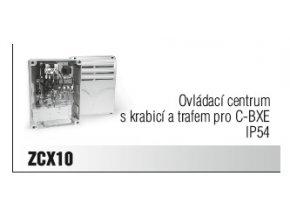 Ovládací centrum s krabicí a trafem pro C-BXE IP54