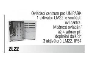 Ovládací centrum pro UNIPARK