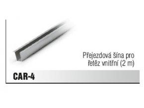 Přejezdová šína pro řetěz vnitřní (2 m)