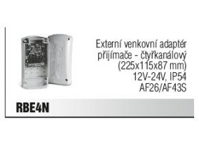 Externí venkovní adaptér přijímače - čtyřkanálový