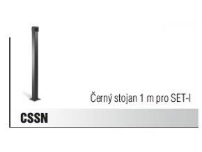 Černý stojan 1 m pro SET-I