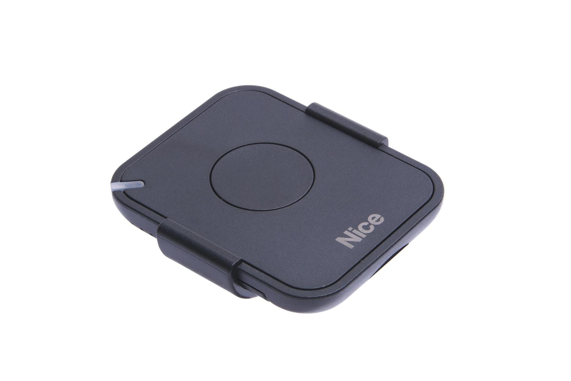 Nice FLO1RE, 1 kanálový dálkový ovladač s držákem do auta, 433,92 MHz, nástupce FLOR-S