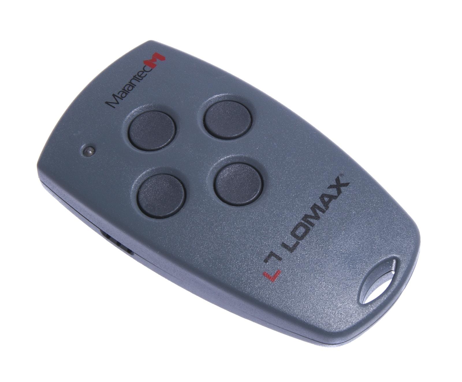Ovladač Lomax Digital 304, 4 kanálový dálkový ovladač, 868 MHz LX304.868