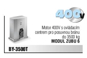 Motor 400V s ovládacím centrem pro posuvnou bránu do 3500 kg