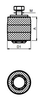 kladka horní vodící VV posuvné brány