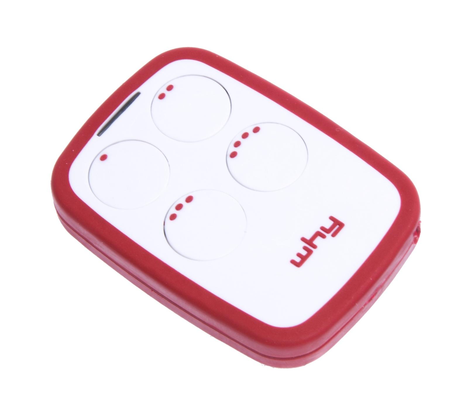 SiceTech univerzální ovladač WHY EVO 6.3, barva bílá / červená