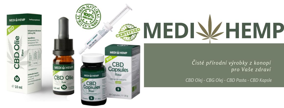 Medihemp - CBD Olej