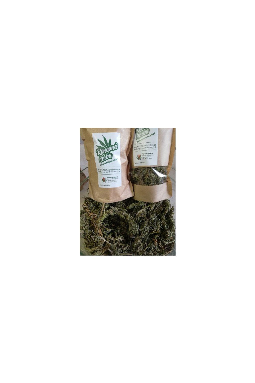 cbd a cbg konopna herba 40g