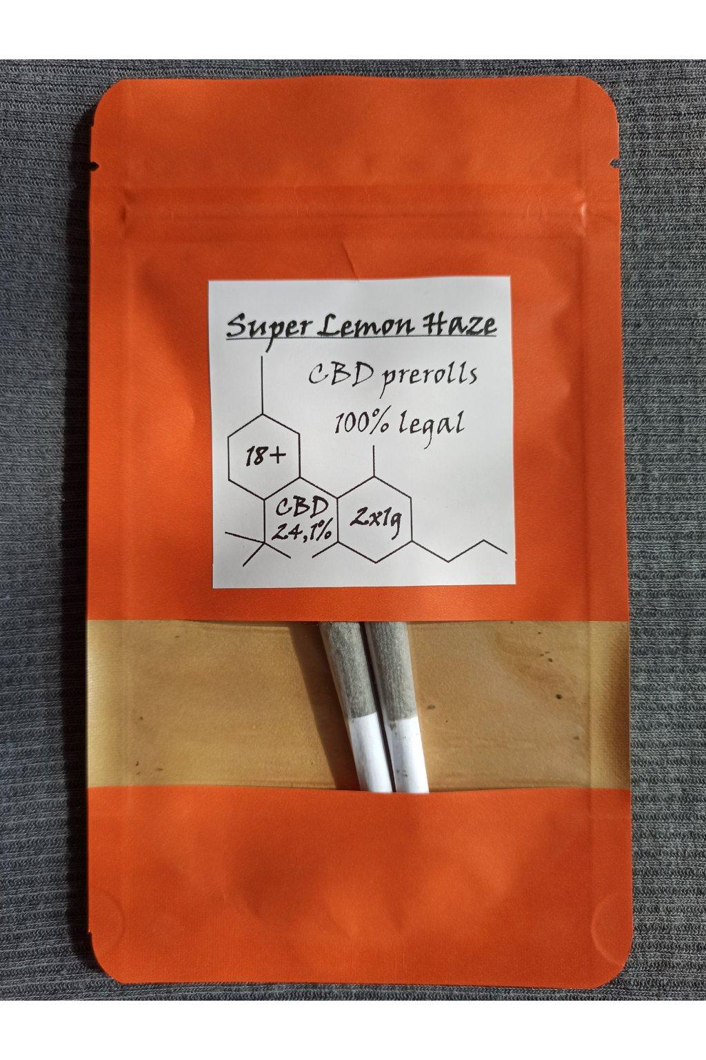 Prerolls 2x   Super Lemon Haze 24,1% CBD
