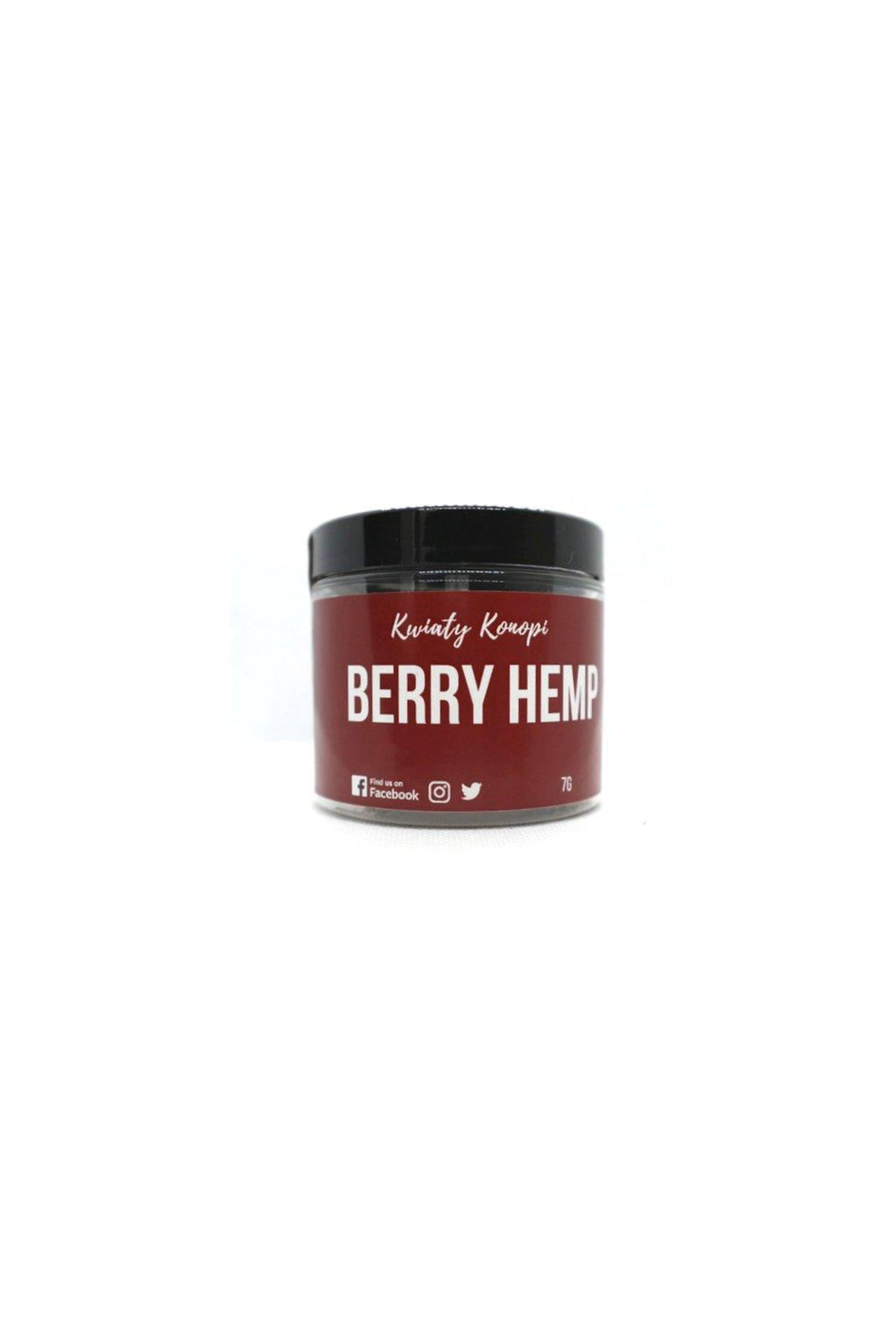 cbd kvet hemp berry 7g hempyourself 1stcoffeeshopcz