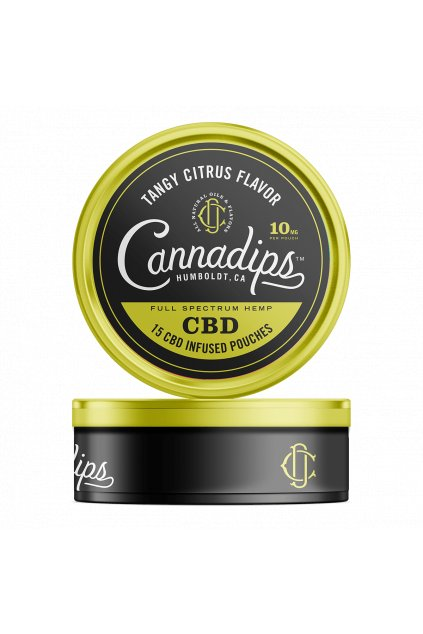 Cannadips Citrus Tin
