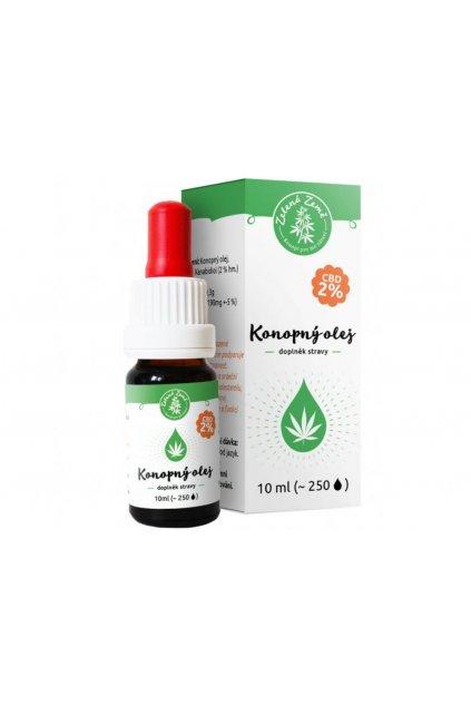 2931 cbd konopny olej 2 10 ml zelena zeme semenacannabis cz