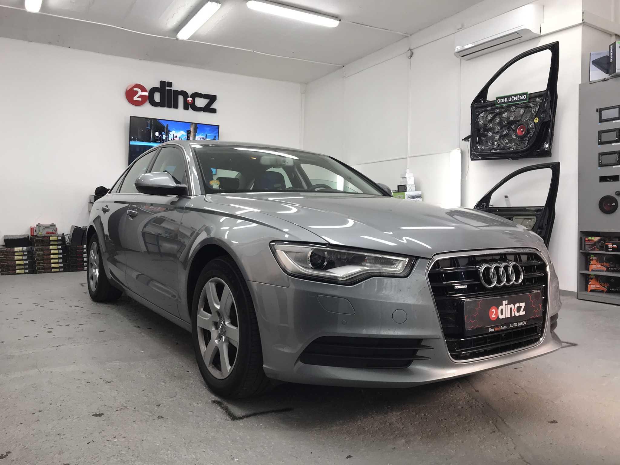 Audi A6 - Instalace couvací kamery k originálnímu autorádiu