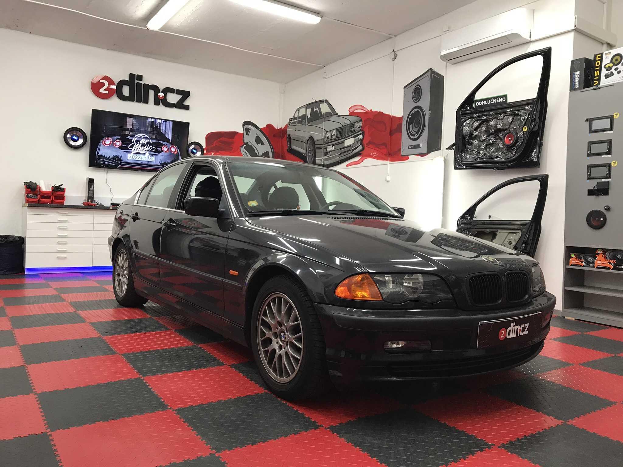 BMW 3 e46 -  Výměna originálních reproduktorů
