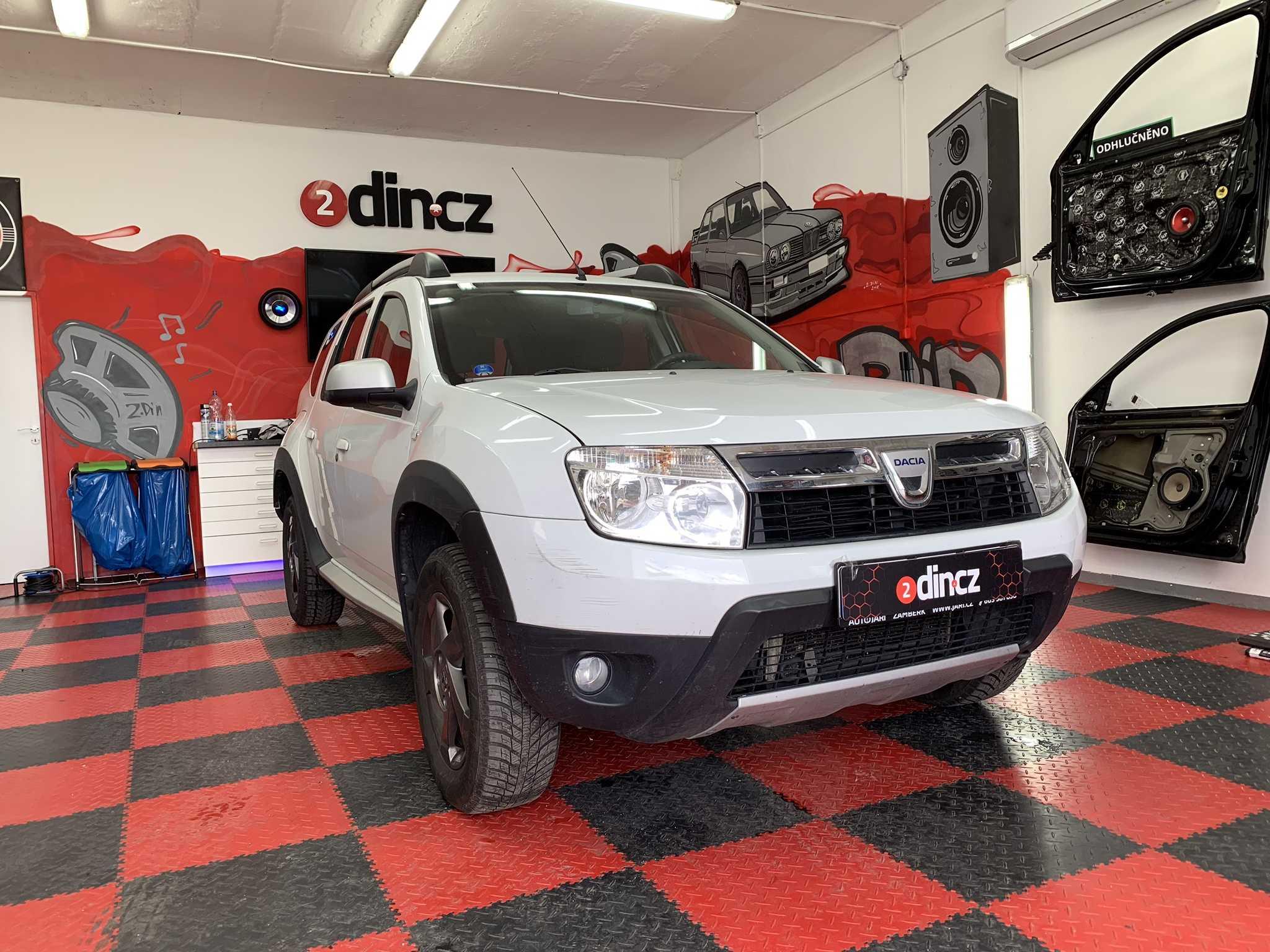 Dacia Duster - Odhlučnění kapoty a mezimotoru