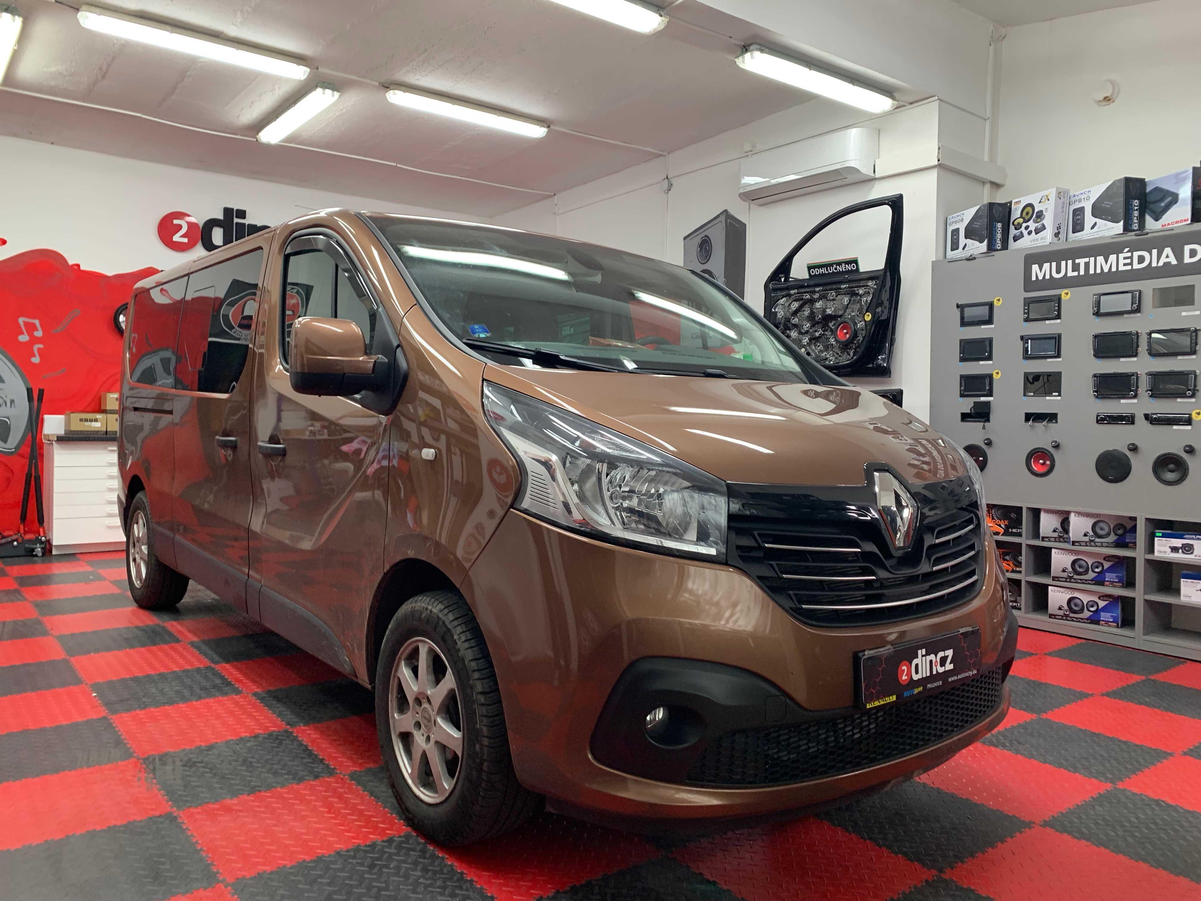 Renault Trafic - Kompletní odhlučnění a montáž reproduktorů