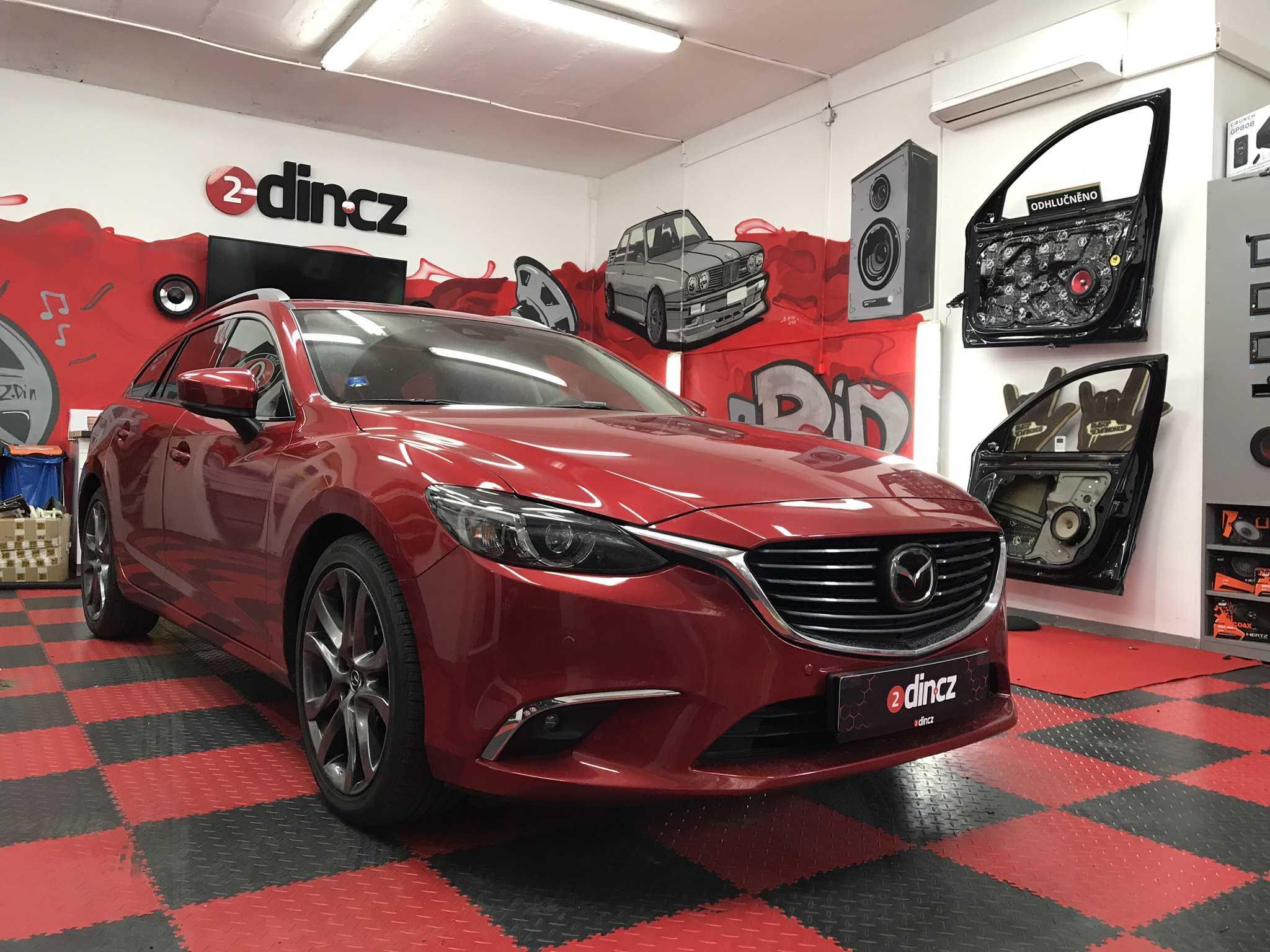 Mazda 6 - kompletní odhlučnění