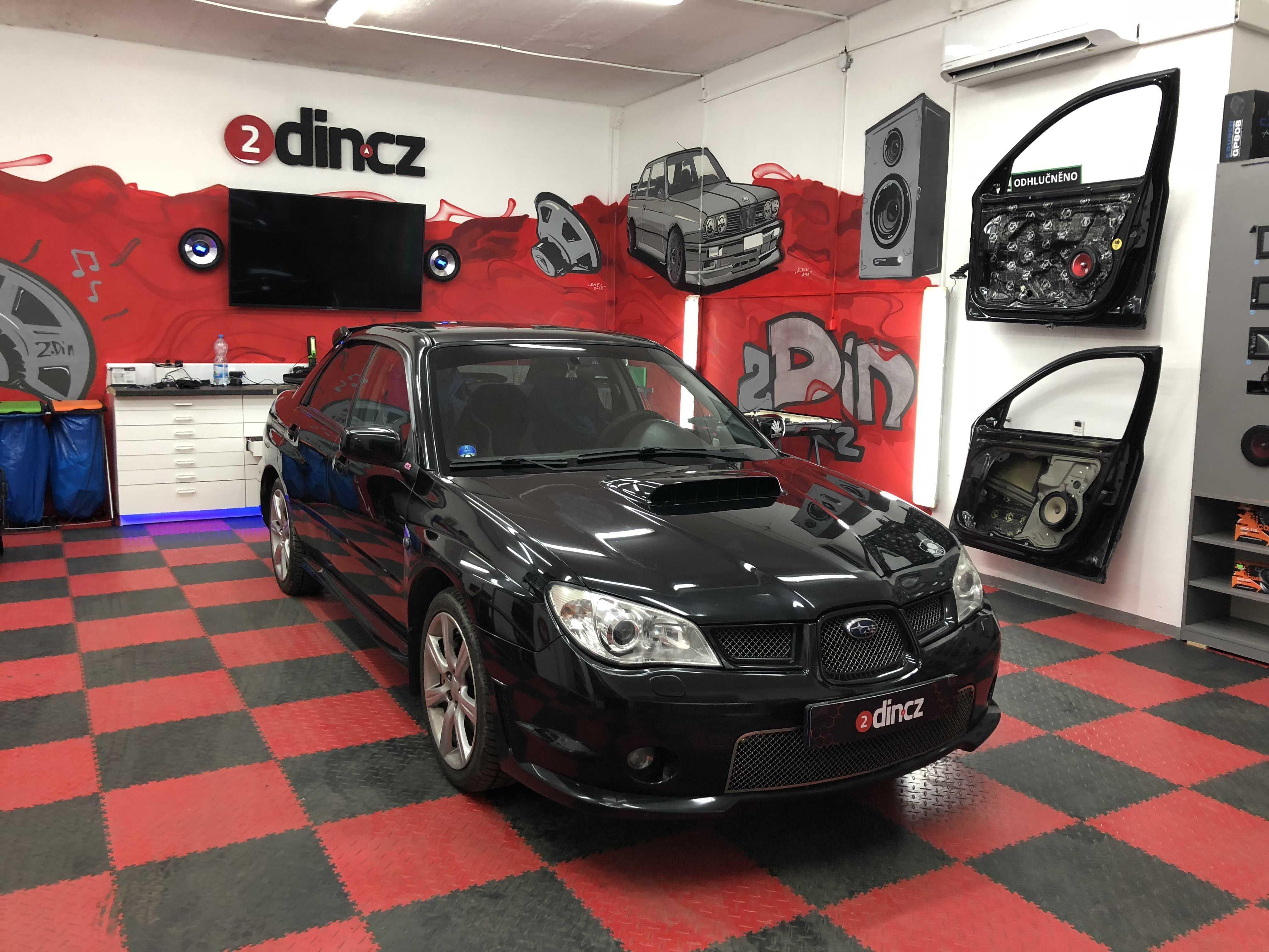 Subaru Impreza - výměna předních reproduktorů