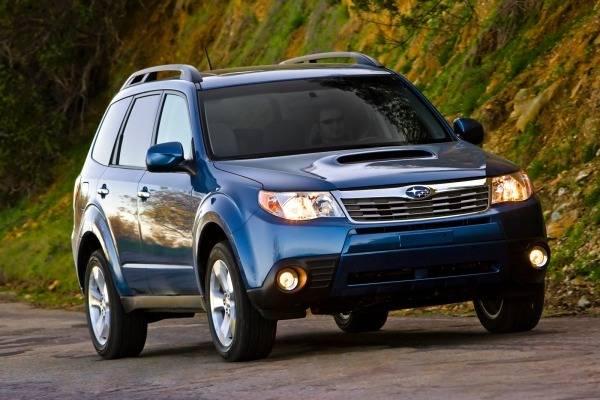 Subaru Forester - Výměna autorádia