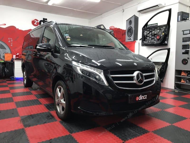 Mercedes Benz V-Class - Ozvučení a montáž CarPlay