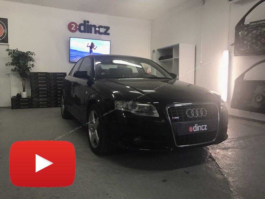 Audi A4 - Speciální autorádio