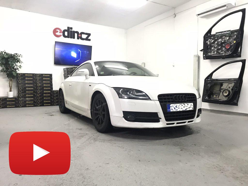 Audi TT - Speciální autorádio