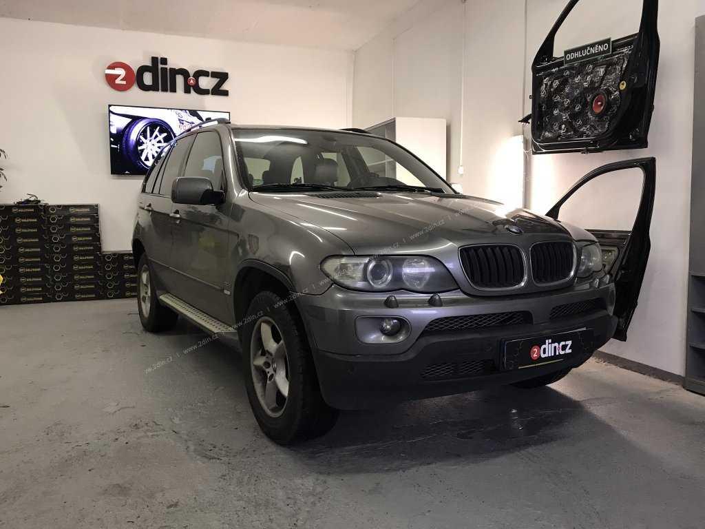BMW X5 e53 - Instalace speciálního autorádia
