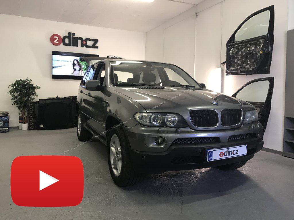 BMW x5 e53 - Speciální autorádio