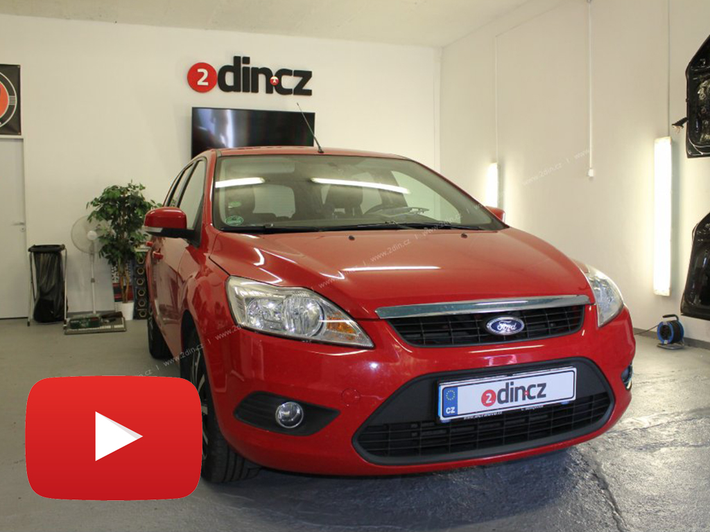 Ford Focus 2010 - OEM Autorádio / kamera / LCD monitor