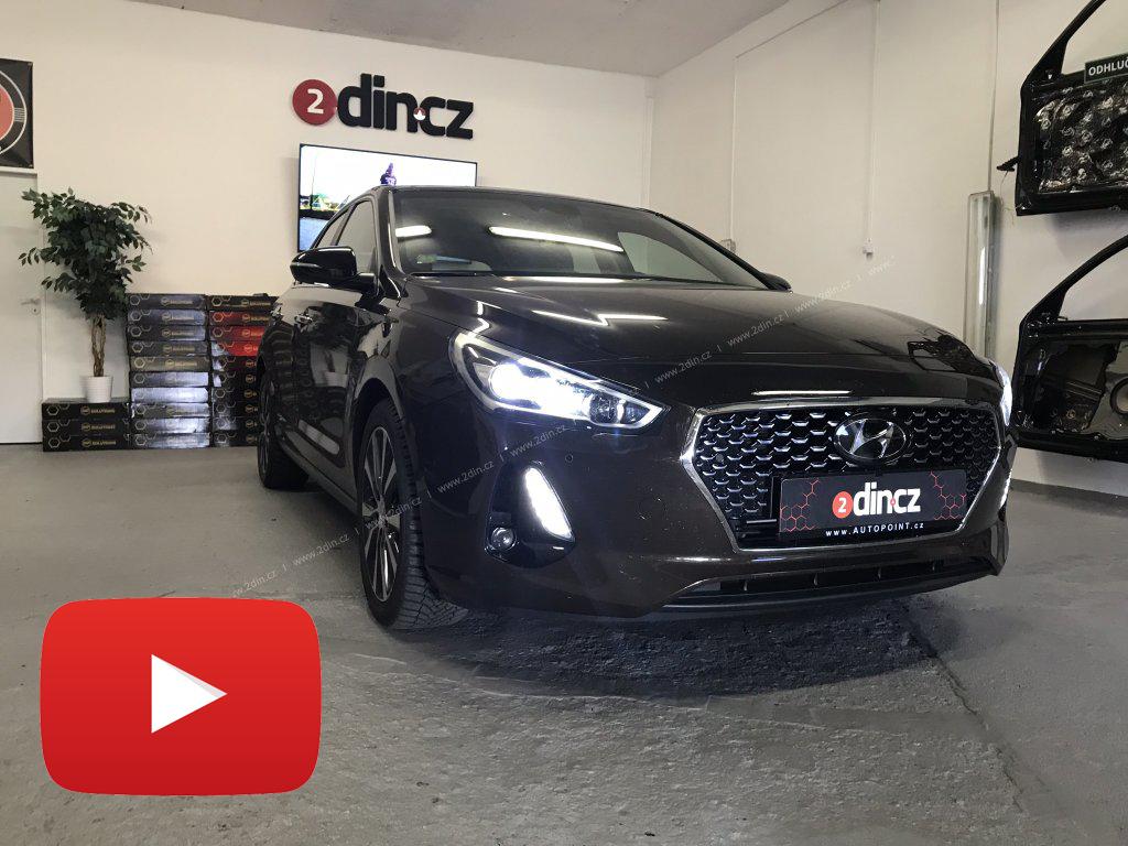 Hyundai i30 2017 - Odhlučnění podběhů