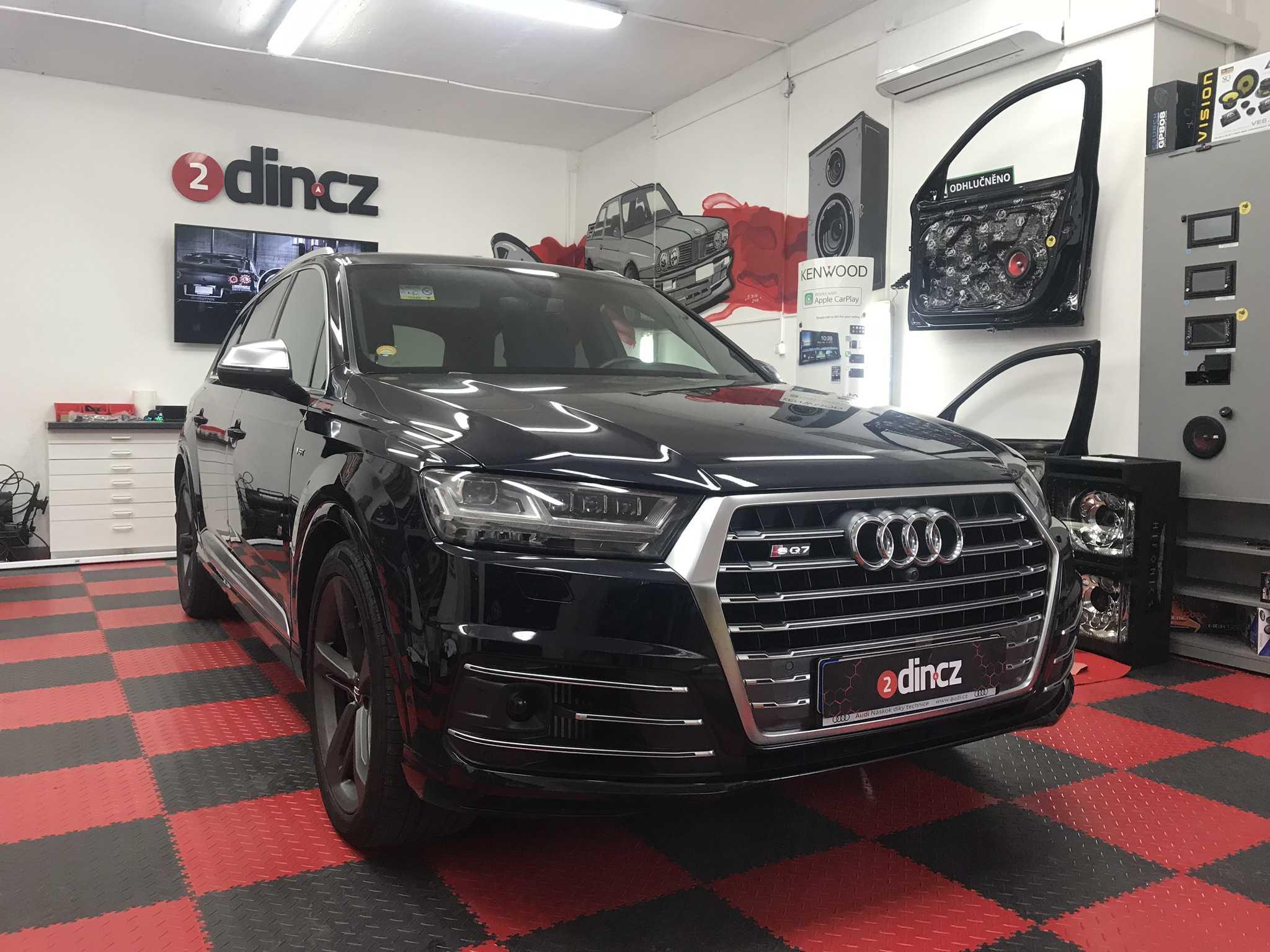 Audi S Q7 - Kompletní odhlučnění