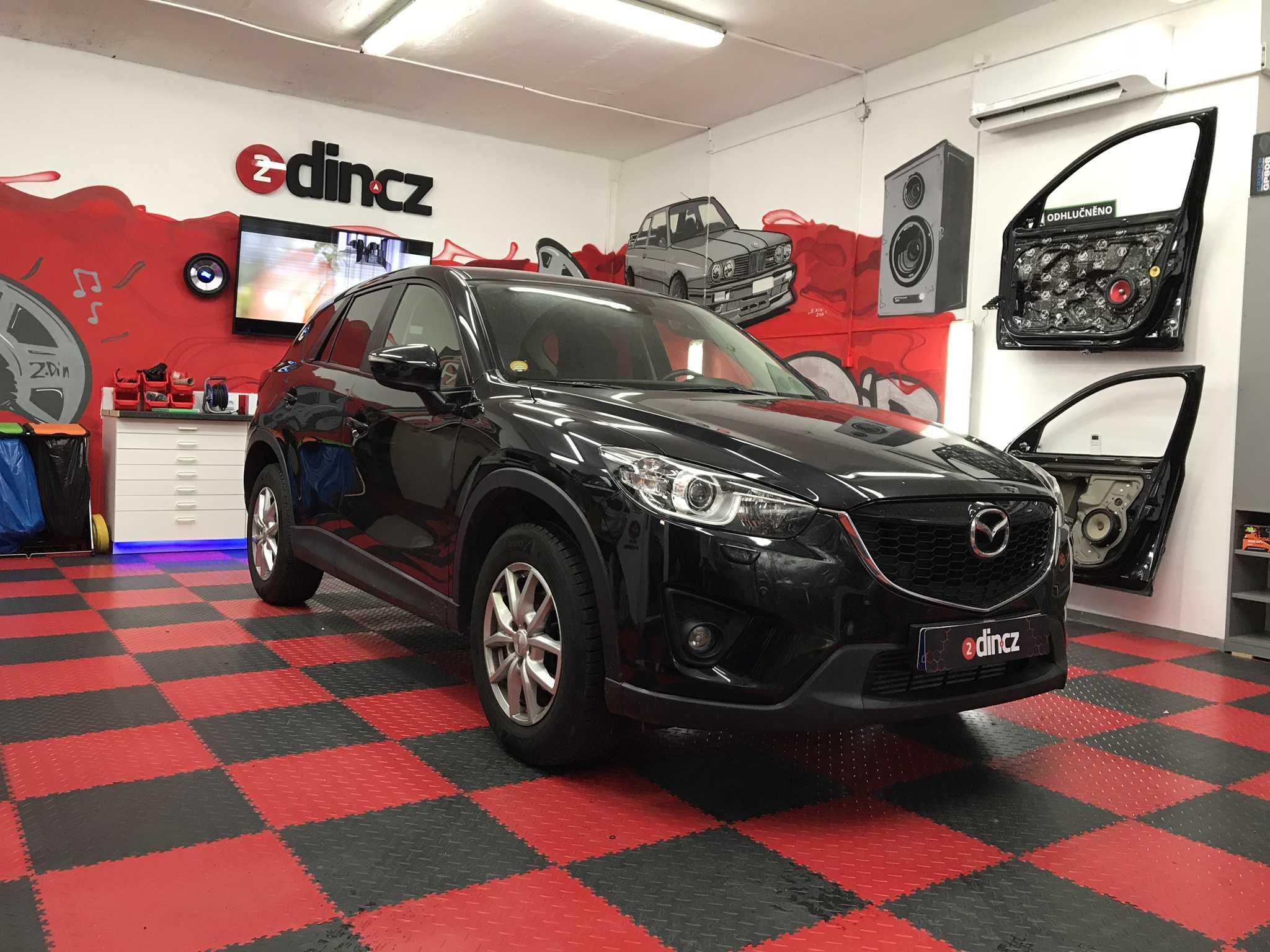 Mazda CX5 - Kompletní odhlučnění auta