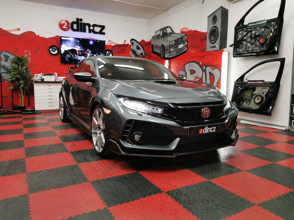 Honda Civic 10g Typer R - Kompletní high-end ozvučení