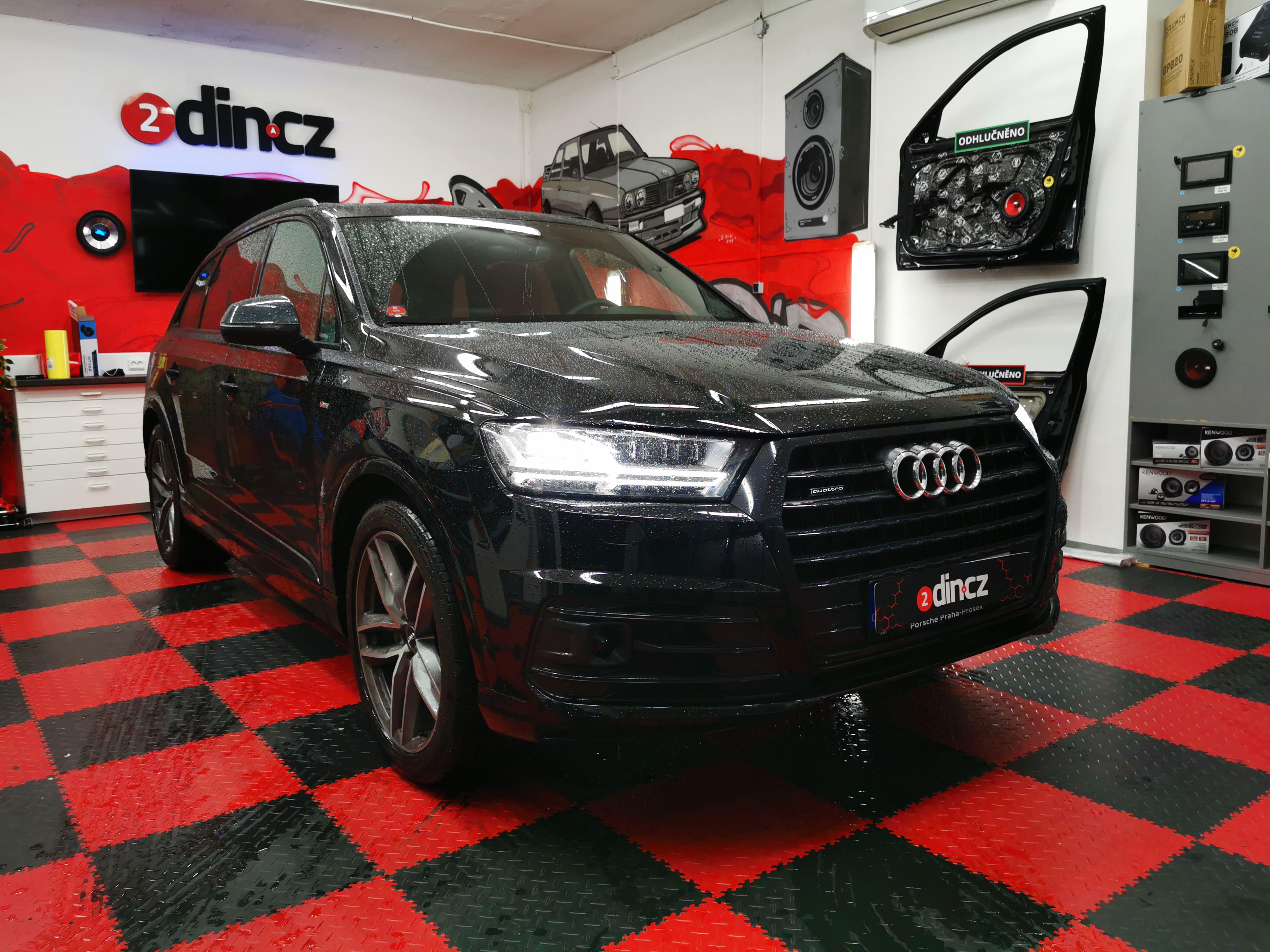 Audi SQ7 - Kompletní odhlučnění