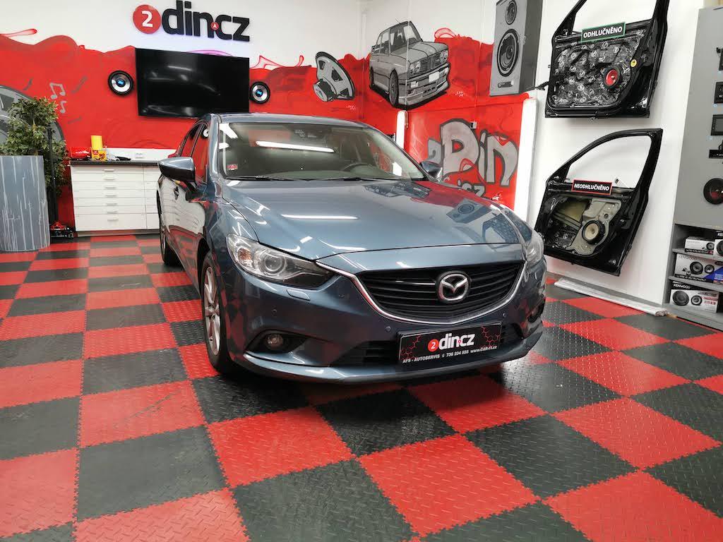 Mazda 6 - Výměna reproduktorů BOSE za nové