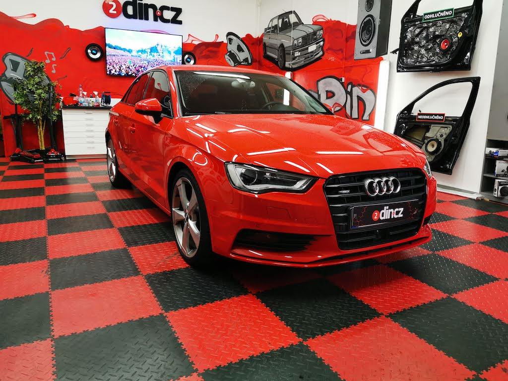 Audi A3 - Odhlučnění dveří