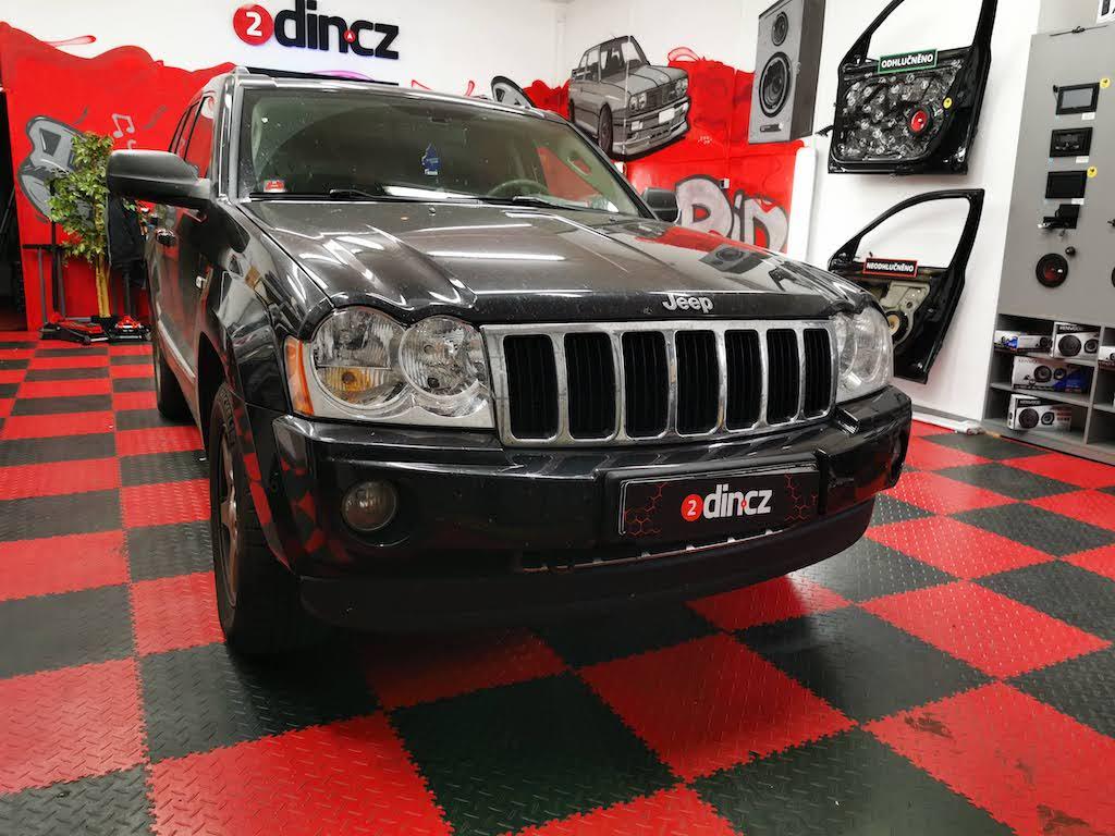 Jeep Grand Cherokee - Výměna autorádia